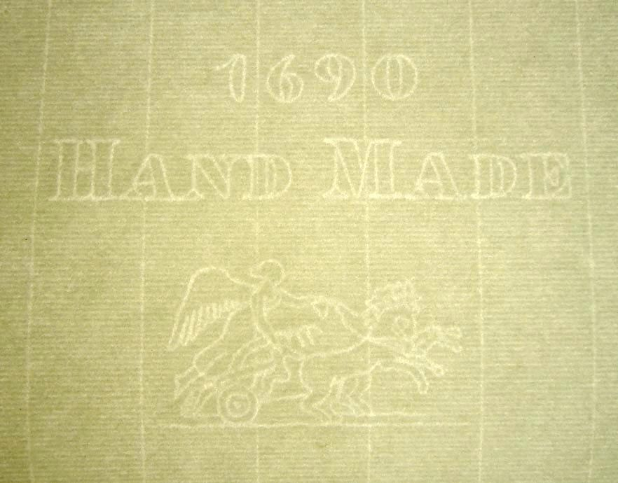 Whatman Made Laid Texture Paper With Watermark 1690 Hand Made A