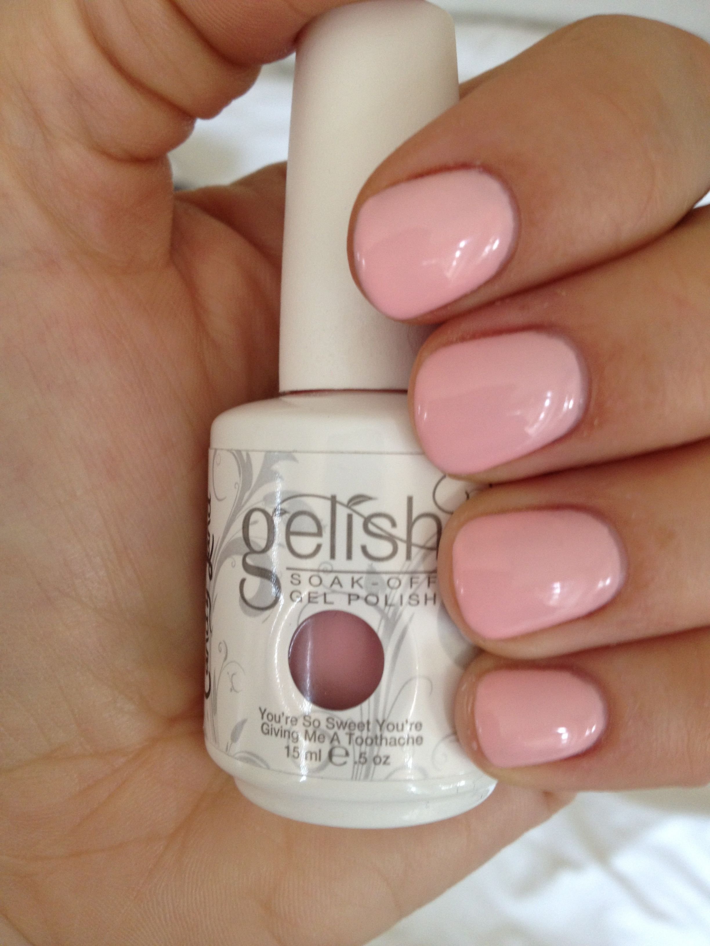 Pin By Victoria Perez On Pretty In Pink Gelish Nails Nails Gel Nail Colors