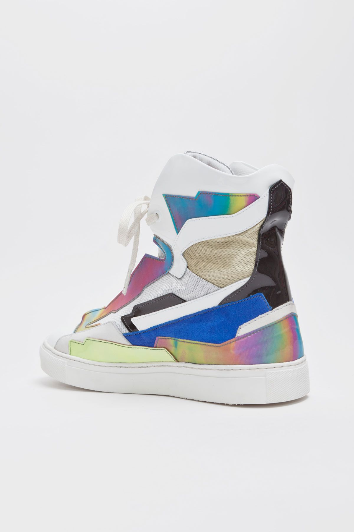 Raf Simons Holographic Space Sneakers