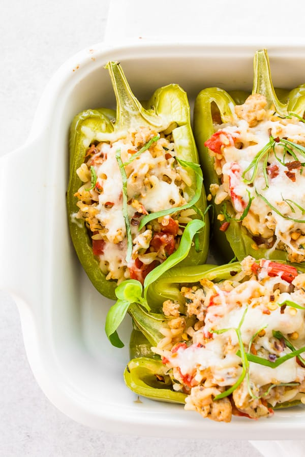 Ground Chicken Stuffed Bell Peppers Recipe In 2020 Stuffed Peppers Easy Cooking Recipes Recipes