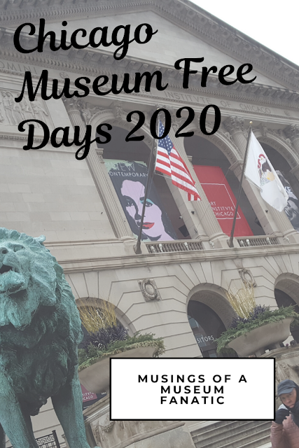 Chicago Museum Free Days 2020 in 2020 Chicago museums