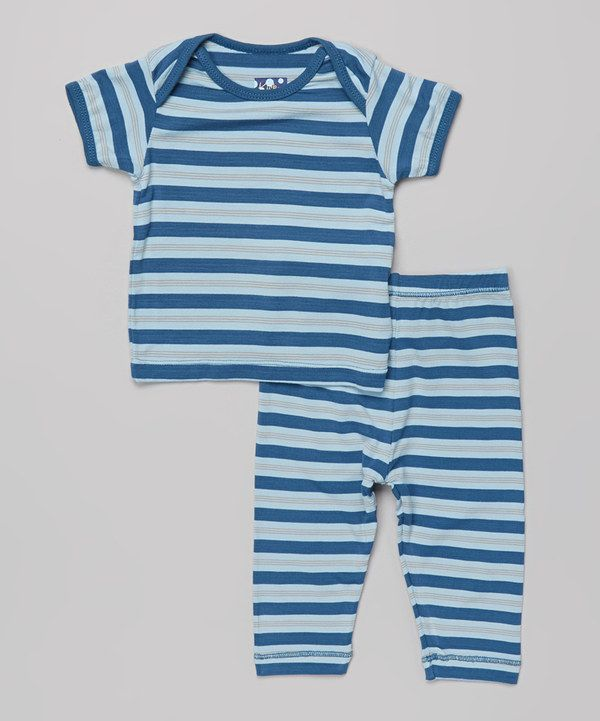 72a876165 Another great find on  zulily! Twilight Stripe Pajama Set - Infant ...
