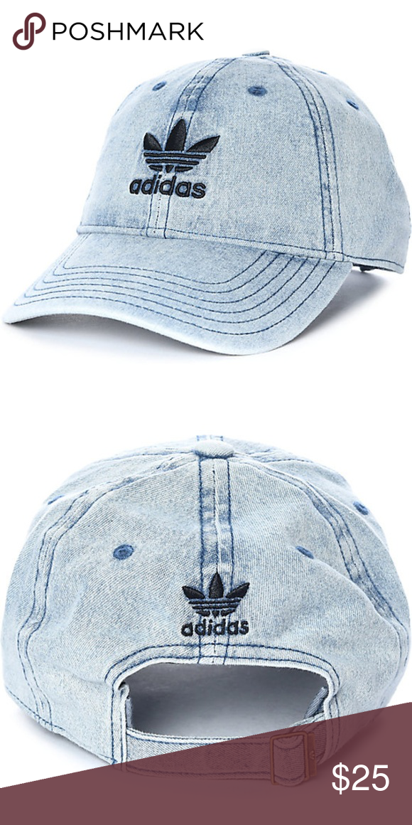 adidasTrefoil Denim Dad's Hat NWT Adidas originals women