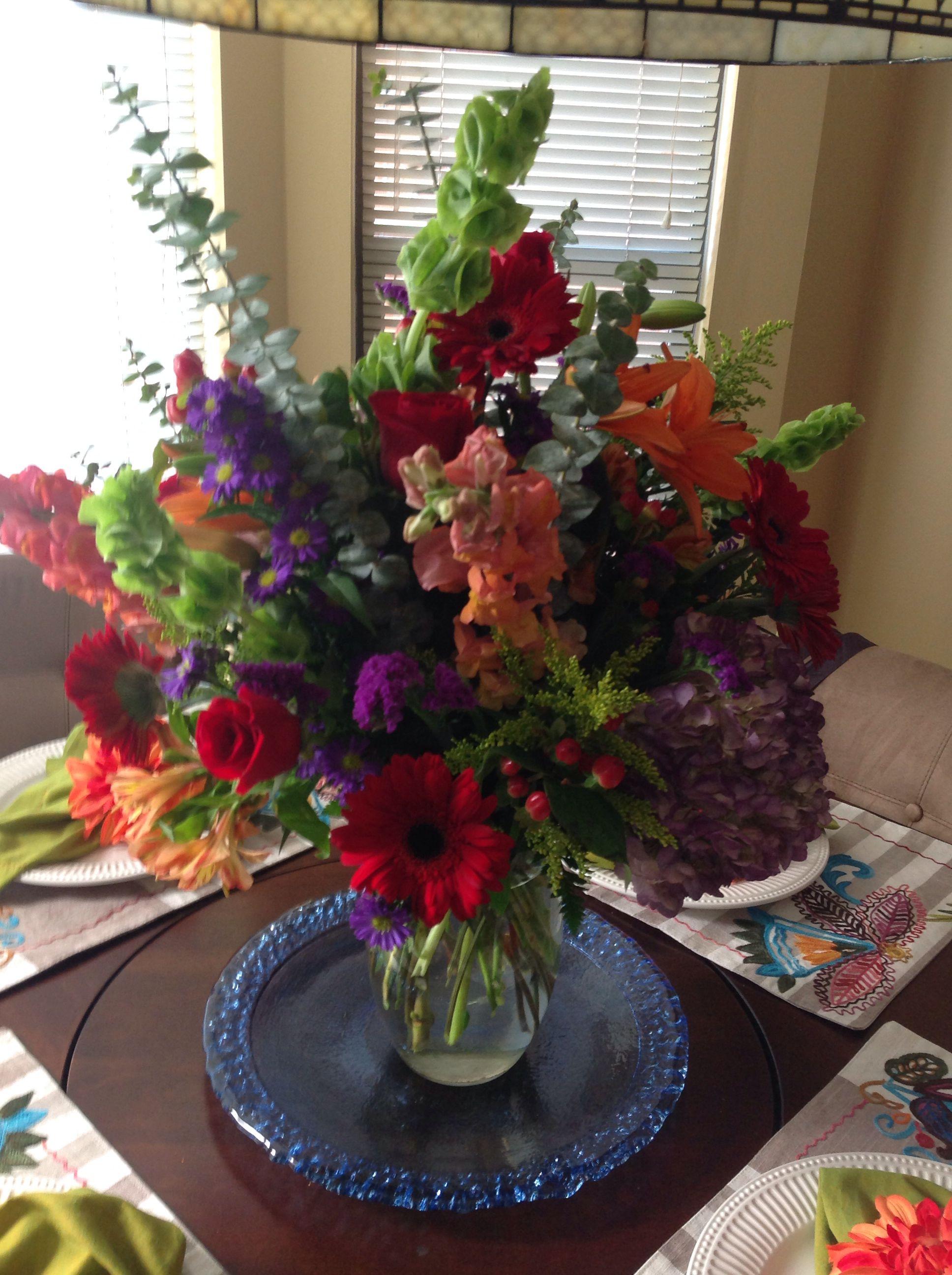 Beautiful Get Well Arrangement from my bestie!