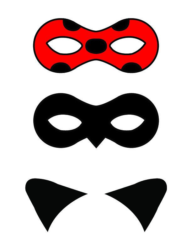 Diy Miraculous Tales Of Ladybug And Cat Noir Masks Miraculous Ladybug Party Ladybug Birthday Party Ladybug Birthday