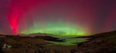 Aurora in Donegal March 2014