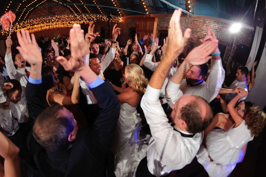 Jordan Andreas Wedding Reception At The Foundry In Knoxville TN Huge Dance Party