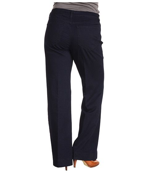 Not Your Daughters Jeans Plus Size Plus Size Greta Trouser in Dark ...