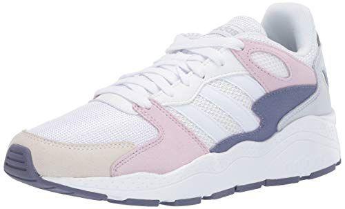 adidas Women's Chaos Sneaker White/aero
