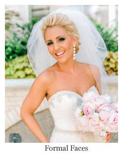 Clic Bridal Hairstyle Full Updo With Veil Hair By Formal Faces A Comes The Bride Affiliate Stylist