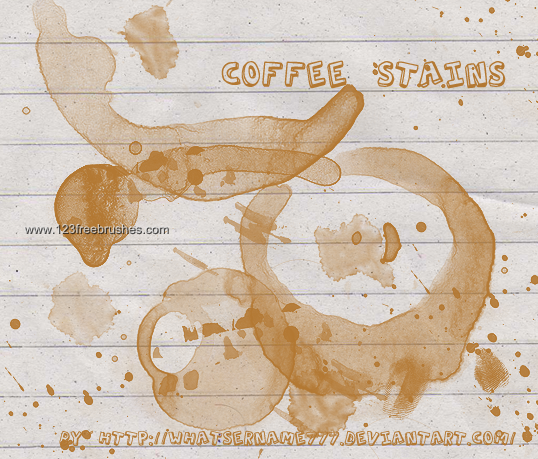 Coffee Stains 8 - Download  Photoshop brush https://www.123freebrushes.com/coffee-stains-8-2/ , Published in #GrungeSplatter. More Free Grunge & Splatter Brushes, http://www.123freebrushes.com/free-brushes/grunge-splatter/   #123freebrushes