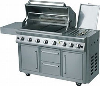 Impressor 8 Series Bbq Body Hood And Cabinet Are Manufactured From Durable Stainless Steel Twin Skin Hoo Bottle Storage Cupboard Storage Stainless Steel Grill