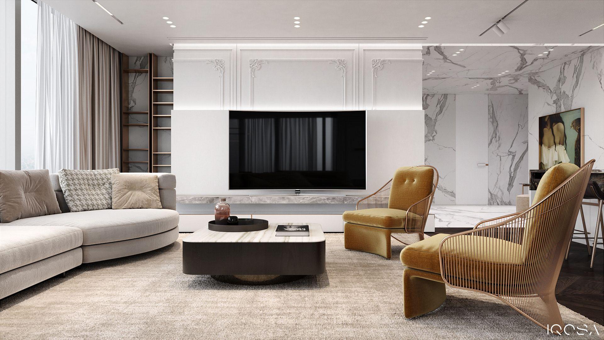 Luxurious apartment on Behance | Luxury apartments ...