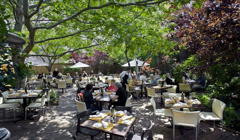 Piccolo Sogno outdoor patio. A fabulous place to grab a bite in ...