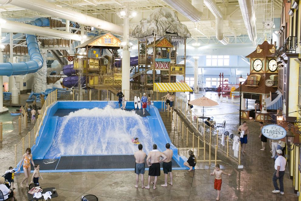 Great Wolf Lodge Wisconsin Dells Best Hotels For Water Fun In The Winter