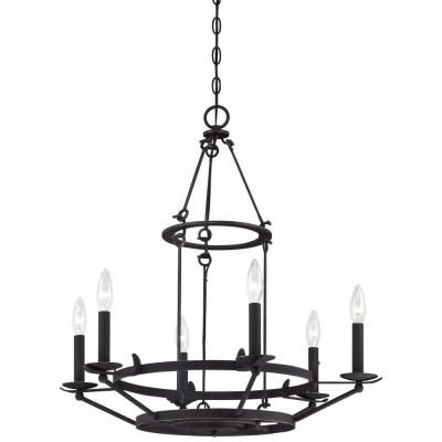 Actual kitchen light minka lavery kingsgate 6 light kona black buy the minka lavery kona black gold highlights direct shop for the minka lavery kona black gold highlights 6 light 1 tier candle style chandelier from aloadofball Image collections