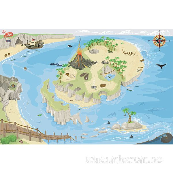 Show details for Pirate Playmat