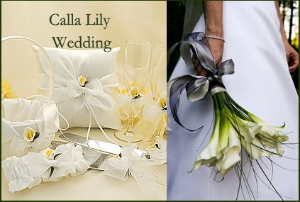 Church Wedding Decorations With Calla Lilies Wedding Theme Ideas