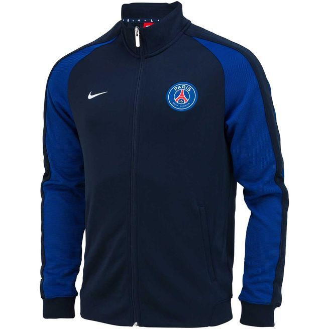PSG N98 AUTHENTIC JACKET 1617 | Veste, Maillot de foot, Blouson
