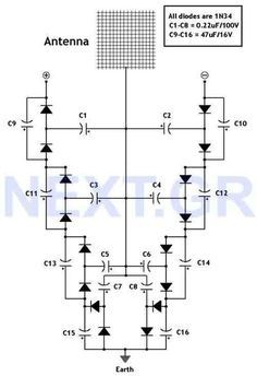 FREE ENERGY ::: Look & build this. This circuit converts