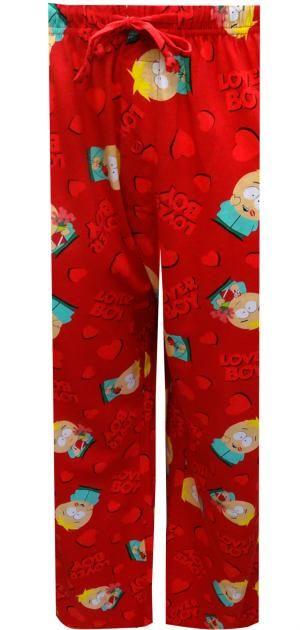 WebUndies.com South Park Butters Stotch Lover Boy Lounge Pants