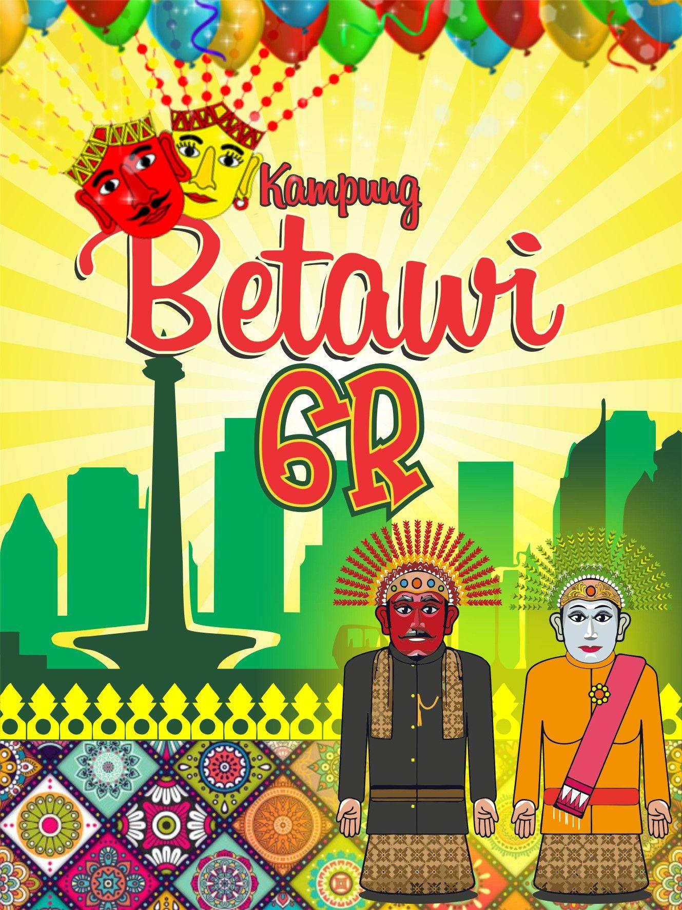 Ondel Ondel Jakarta Banner Idea For Design Poster Movie Posters