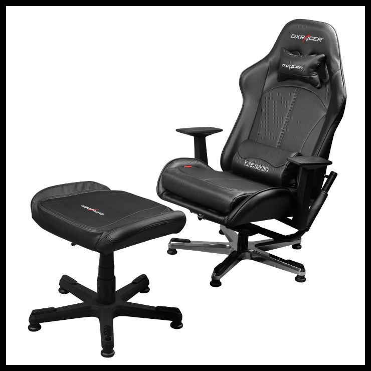 Dxracer Video Game Chair Ottoman Kc57n Suit Gaming Chair