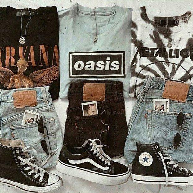 Noise Grrrl on Instagram: Grunge Clothing Brand #nirvana #oasis #metallica #grunge #grungegirl
