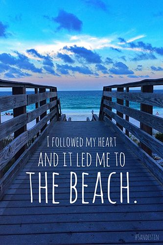 Sandestin Golf and Beach Resort - I followed my heart and it led me to the  beach. 088b2377ca3f3