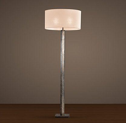 Floor Restoration Hardware Column Floor Lamp Floor Lamp Lamp