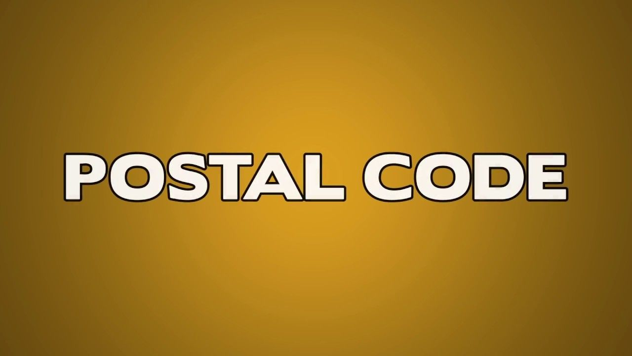 Postal Code Meaning Coding Code Meaning Postal