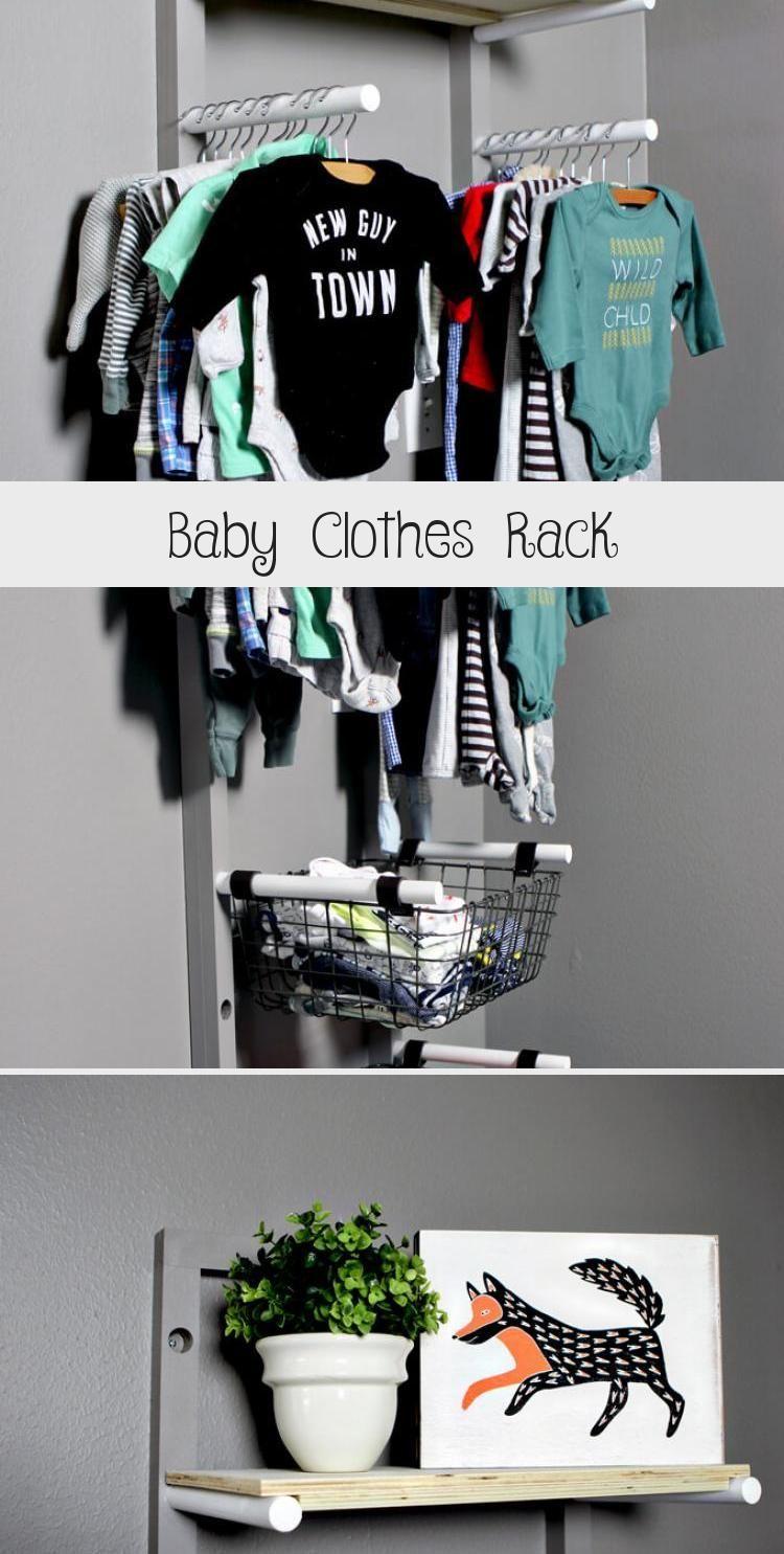 Photo of DIY Kleiderständer für ein Kinderzimmer wenn Sie keinen Kleiderschrank haben u…
