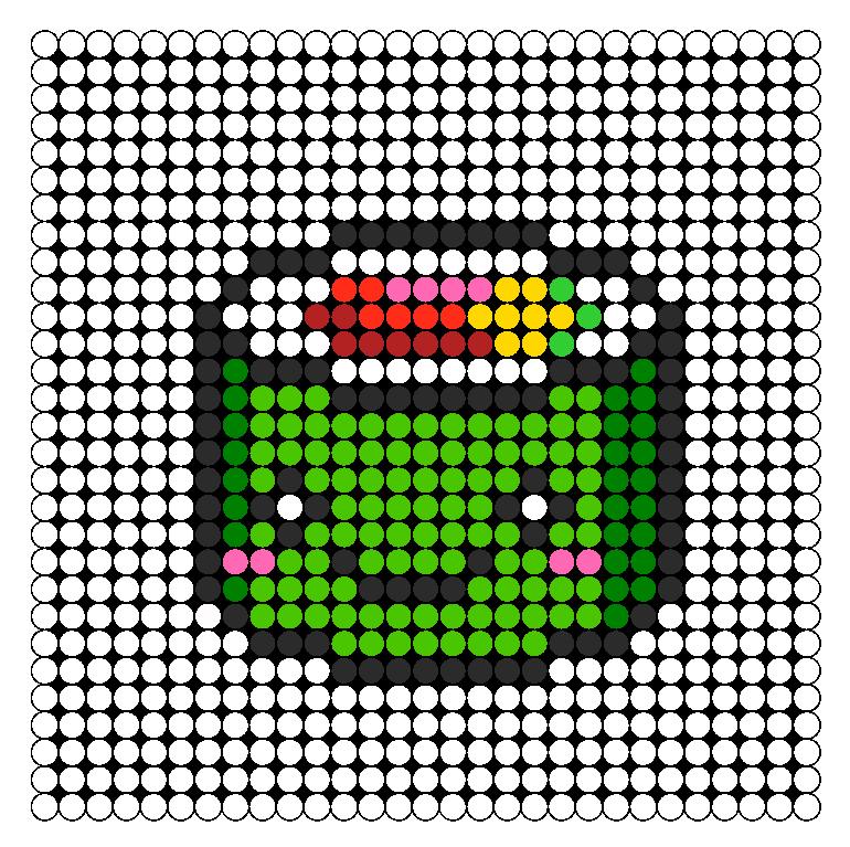 Sushi Perler Bead Pattern Bead Sprites Food Fuse Bead