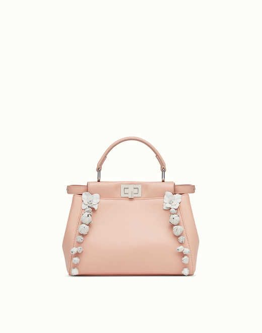 PEEKABOO - pink nappa leather handbag. Discover the new collections on Fendi  official website. Ref  8BN2449GKF0N1Q 07573fecb251f