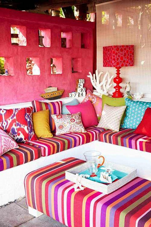 sofa de colores - Buscar con Google | Gardens & outdoors | Pinterest ...