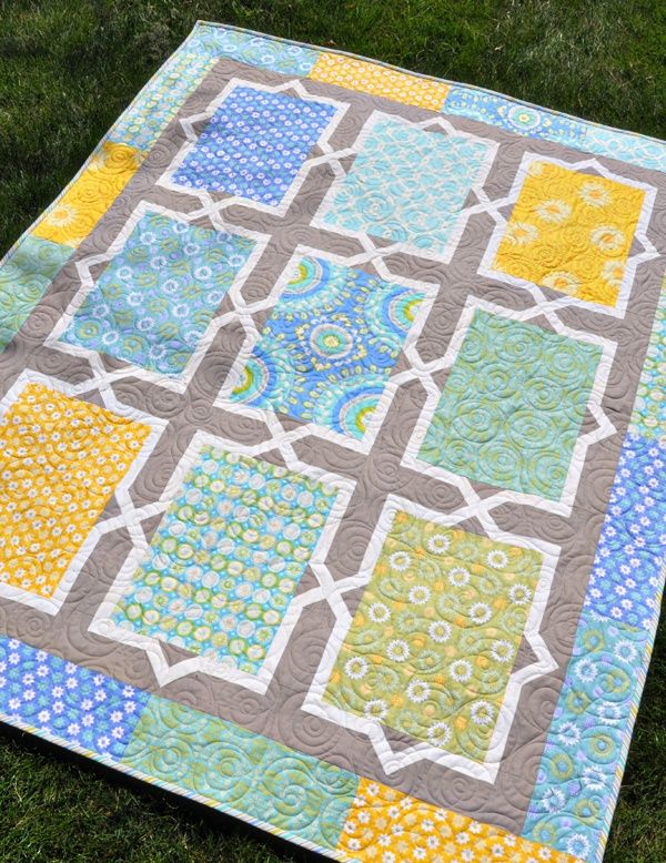 Spanish Tiles   Amy butler, Butler and Amy : quilt patterns for big prints - Adamdwight.com