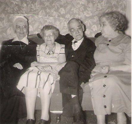 Sr. Gerard, Margaret, Alphonsus, Nellie