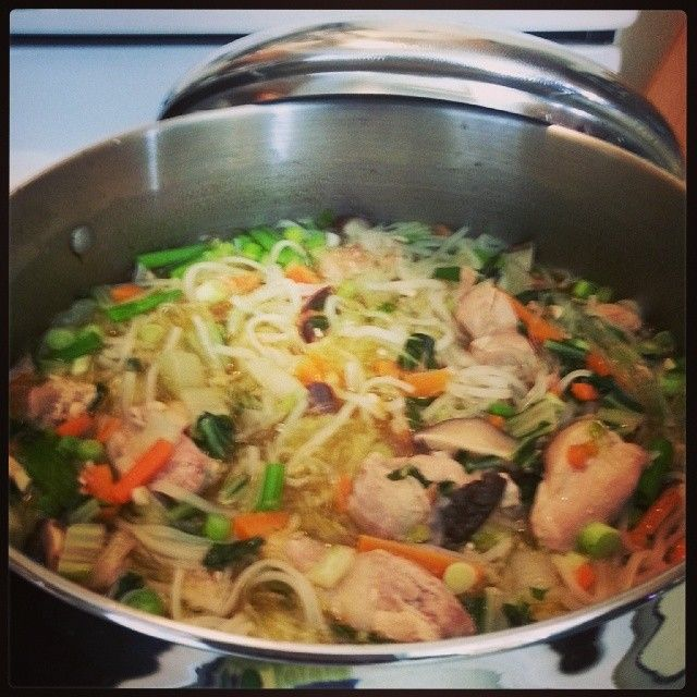 Hawaiian Chicken Long Rice | Hawaiian food, Cooking ...