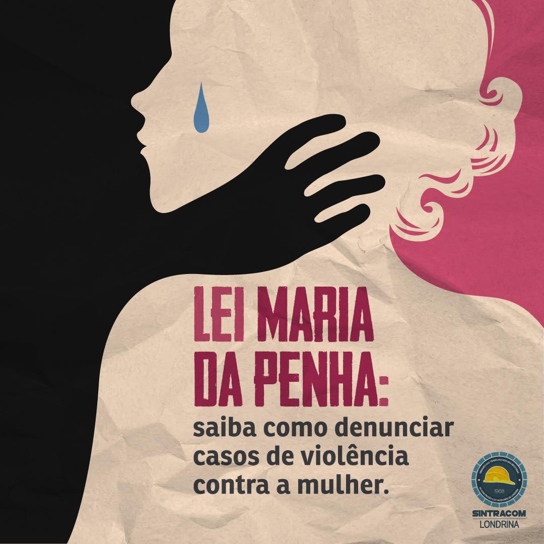 Resultado de imagem para lei maria da penha   Penha, Violência, Cartaz