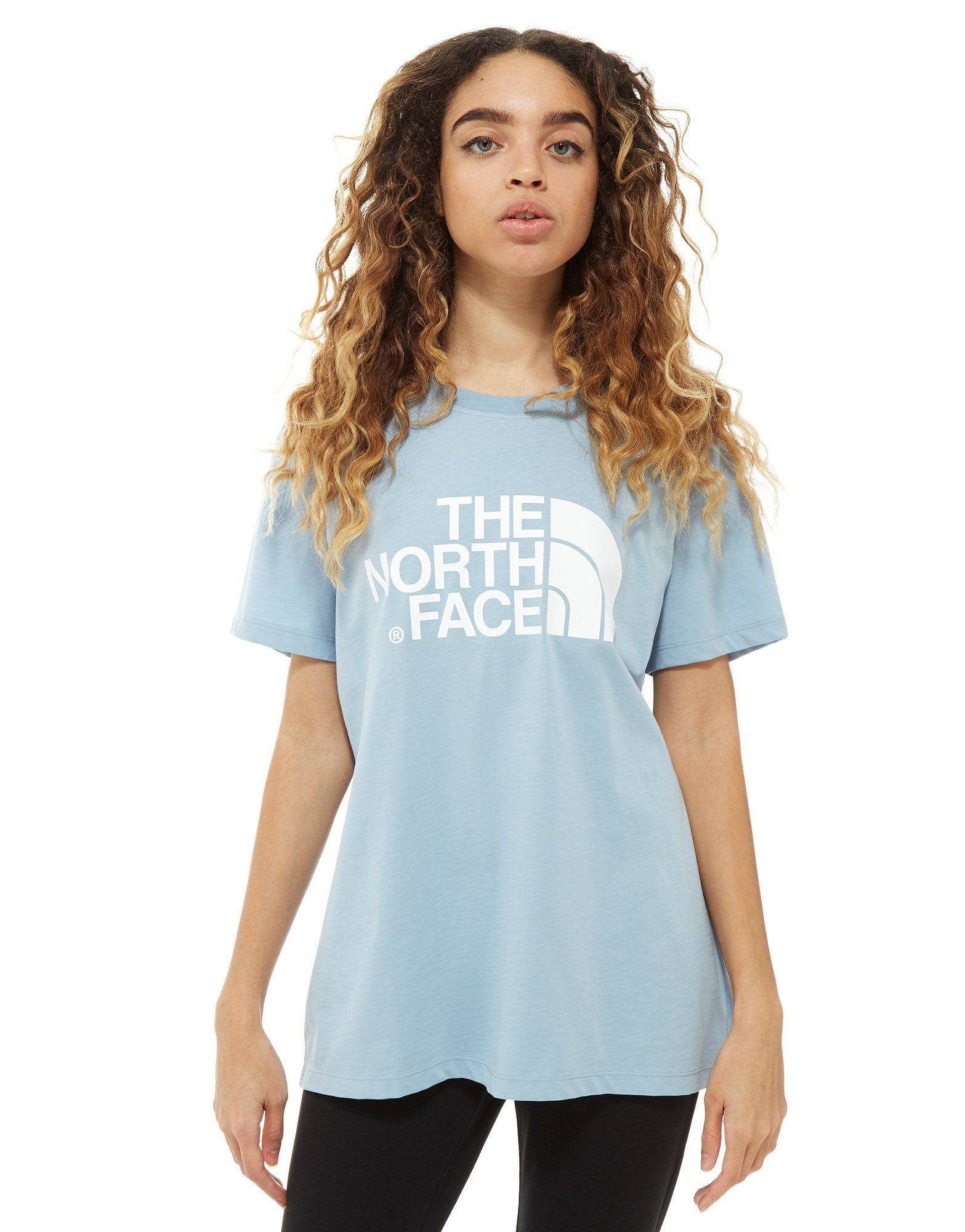 64050b8fe The North Face Logo Boyfriend T-Shirt - Shop online for The North ...