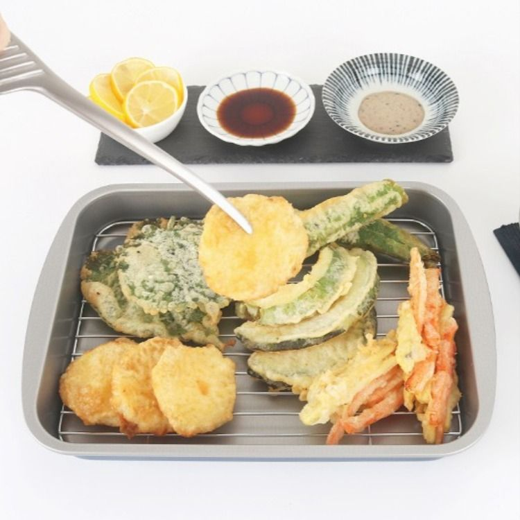 튀김 튀김요리 튀김트레이 요리 식품 아이디어 밥