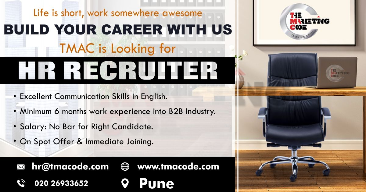 Looking For A Better Opportunity Join Us We Are Having Urgent Opening For Hr Recruiter For More Inf Career Management Work Experience Looking For A Job