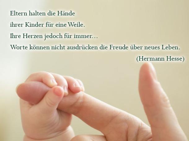 Gemeinsame Sprüche zur Geburt: Die schönsten Zitate | Geburt | Baby, Birth @KF_45