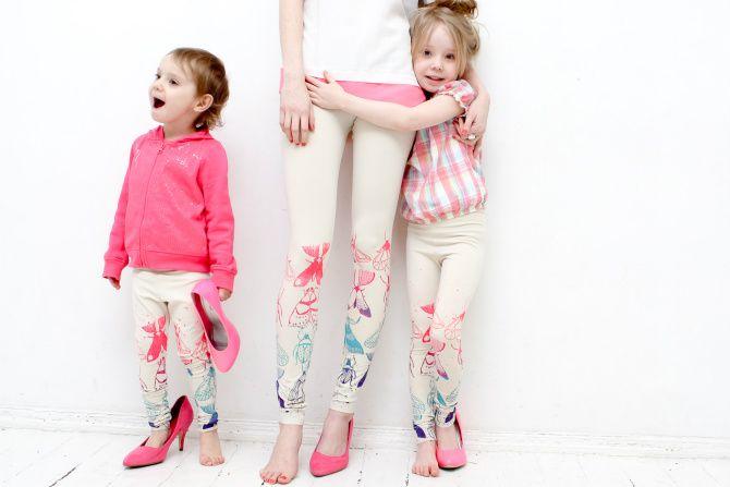 ZIB* pavasarīgā kolekcija mammām un meitām