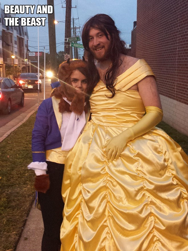 These Couples Have Totally Won Halloween in 2020 Funny