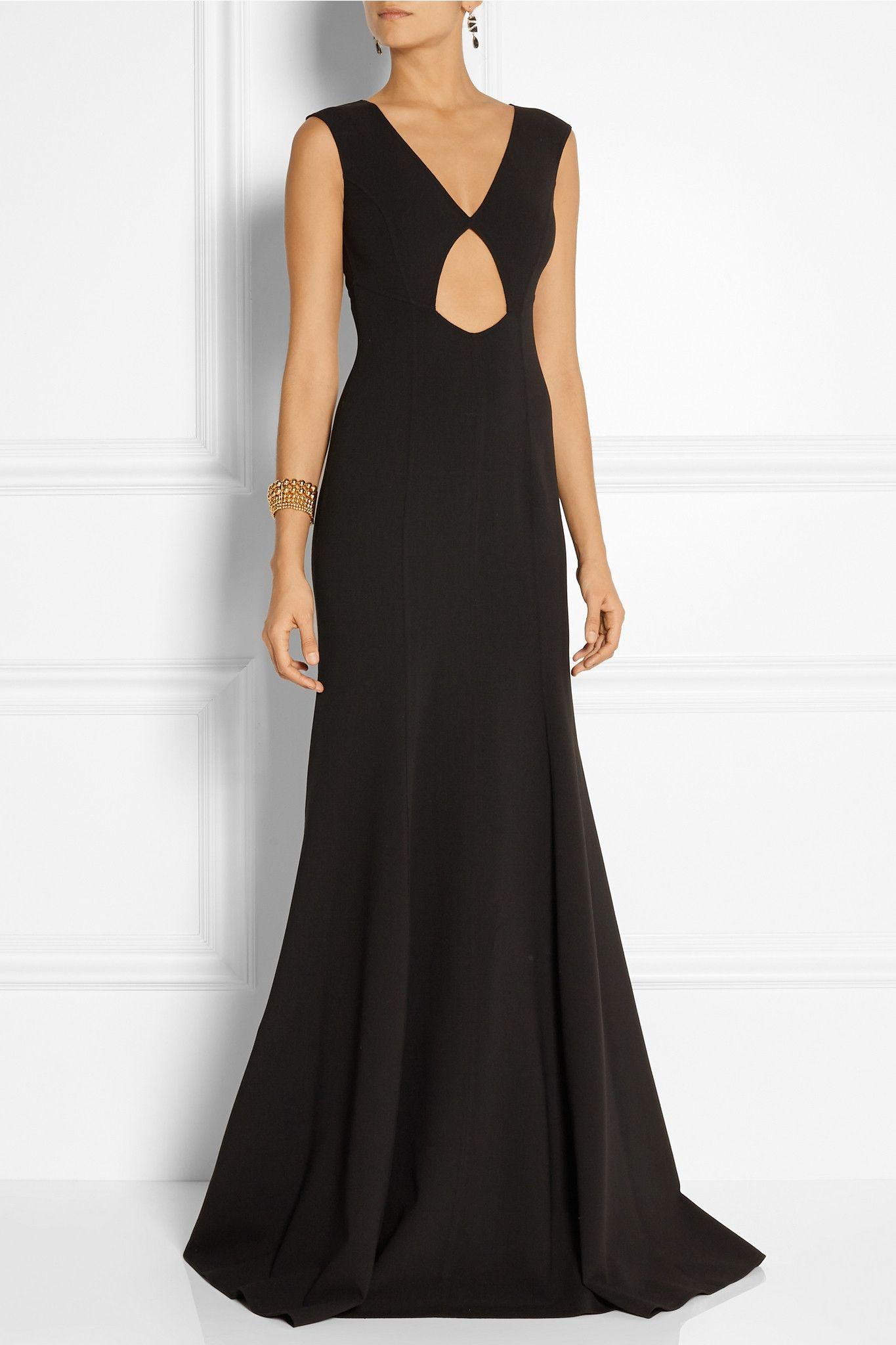 MICHAEL KORS Cutout stretch-wool gown €2,695 http://www.net-a-porter ...