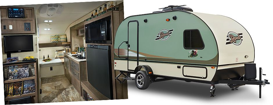 R Pod Travel Trailers By Forest River Rv This Little Guy Sleeps