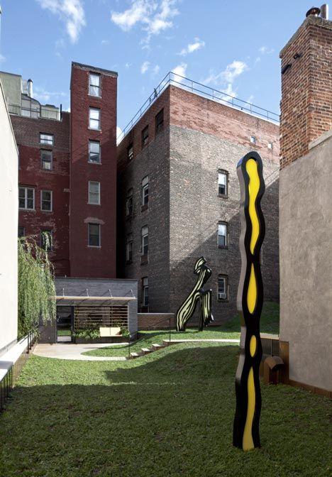 roy lichtenstein residence + studio - greenwich village, ny ...