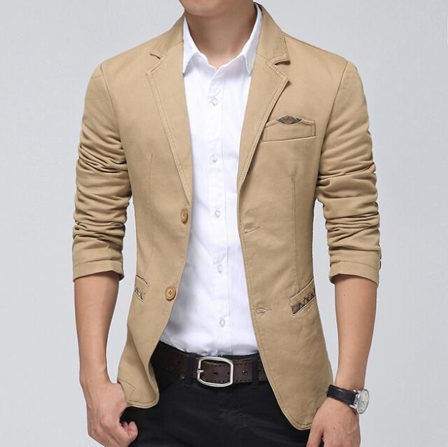 Awesome mens khaki jacket casual | Áo vest nam hàn quốc ...