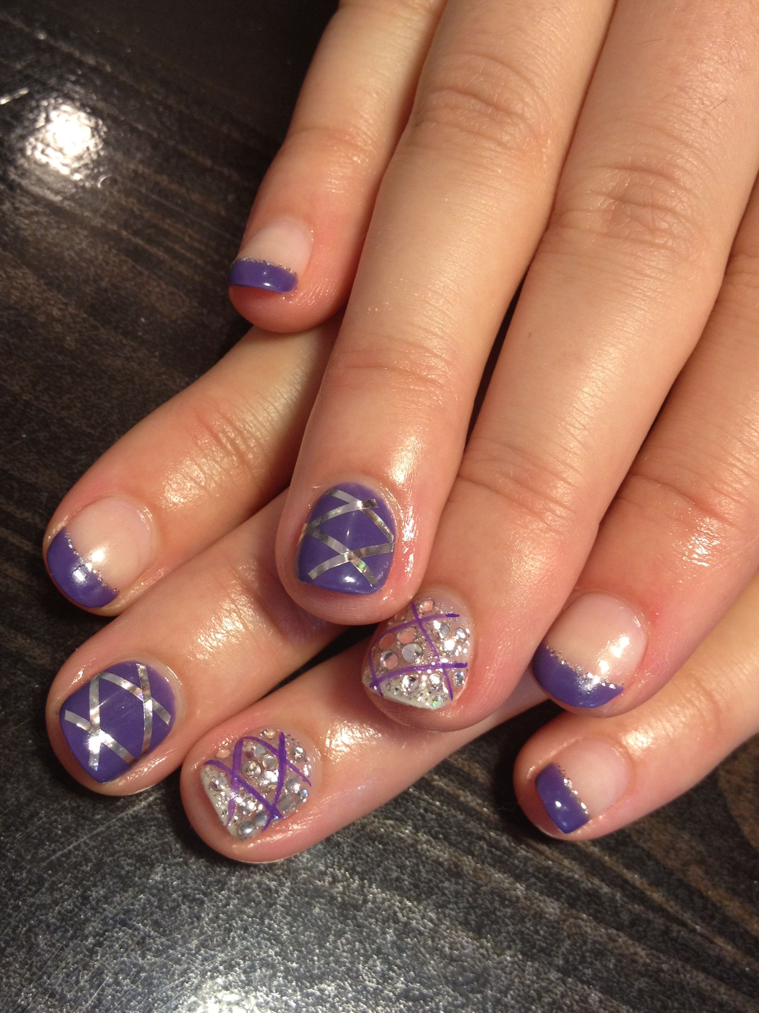 Purple nail art theme! (With images) | Diy beauty nails ...